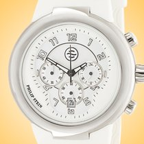 Philip Stein Steel 45mm Quartz 32-AW-RW new