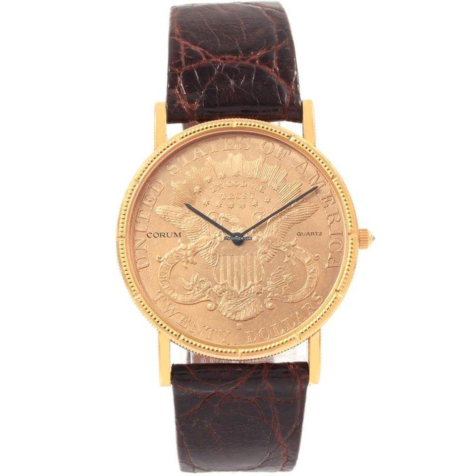 9aba49e91c9d3 Pre-owned Corum Coin Watch