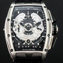 Cvstos 53,70mm Automatik 2014 neu Challenge Silber