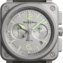Bell & Ross BR 03-94 Chronographe Steel 42mm Grey Arabic numerals United States of America, California, Moorpark