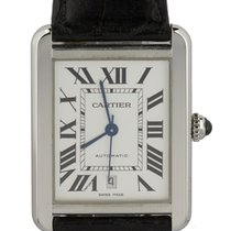 Cartier Tank Solo Steel 31mm Silver Roman numerals United States of America, New York, Lynbrook