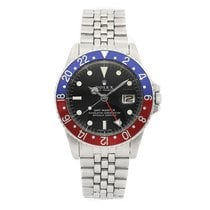Rolex GMT-Master pre-owned 40mm Black Date GMT Fold clasp