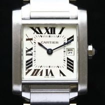Cartier Acier 25mm Quartz W51011Q3 occasion