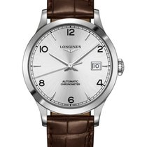 Longines Record Silver Arabic numerals United States of America, New York, Brooklyn
