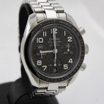 Omega Speedmaster Ladies Chronograph Steel 38mm Black Arabic numerals