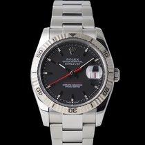 Rolex Datejust Turn-O-Graph Altın/Çelik 36mm Siyah