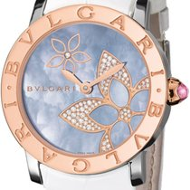Bulgari Bulgari Gold/Steel 33mm Mother of pearl No numerals United States of America, New York, New York