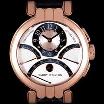 Harry Winston Rose gold 39mm Automatic MCRA39R pre-owned