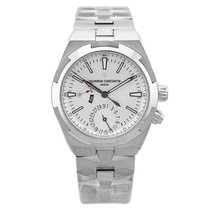 Vacheron Constantin Overseas Dual Time Steel 41mm Silver