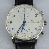IWC Portuguese Chronograph Steel 41mm Silver Arabic numerals