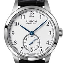 Union Glashütte 1893 Small Second Steel 34mm White Arabic numerals