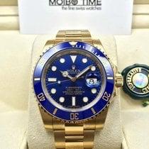 Rolex 116618LB Blue 18K Yellow Gold Ceramic Submariner Date