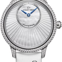 Jaquet-Droz Petite Heure Minute j005004570 New White gold 35mm Automatic United States of America, New York, Airmont