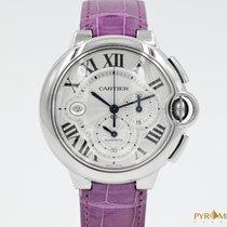 Cartier Ballon Bleu Chronograph White Dial 3109 Full Set