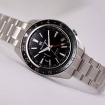 Seiko Grand Seiko Steel 44mm Black No numerals United States of America, New Jersey, Princeton