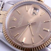 Rolex Mens Datejust Watch - Brown Polar Pie Pan Dial - Jubilee...