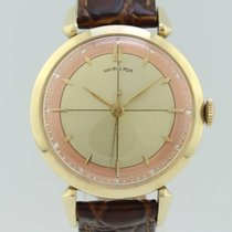 Hamilton Vintage Manual Winding Gold Restored Dial Unisex