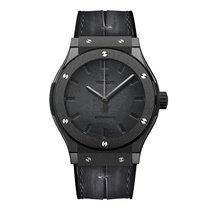 Hublot Classic Fusion Hub1100 Berluti All Black Mens Watch Ref...