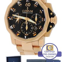 Corum Admiral's Cup Challenge 44 44mm Black 18K Rose Gold