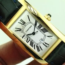Cartier Tank Americaine 1740 ref. W2603156 18K Yellow Gold...