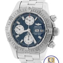 Breitling Superocean Chronograph A13340 Blue 42mm Day Date...