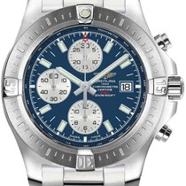 Breitling Colt Chronograph Automatic Steel Blue United States of America, Iowa