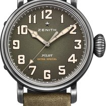 Zenith Pilot Type 20 Extra Special 40mm in Khaki (LIMITED...
