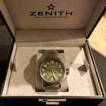 Zenith Pilot Type 20 Extra Special Steel 40mm Green United States of America, Illinois, CAMPTON HILLS