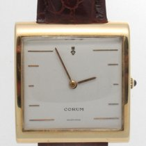 Corum Yellow gold 36mm Quartz pre-owned United States of America, California, Beverly Hills