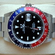"Rolex [SERVICE+B+P] GMT Master Pepsi ""swiss dial"" 16700 - 1998"