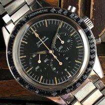 Omega Speedmaster Steel 39mm Black No numerals