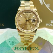 Rolex Day-Date 36 pre-owned 36mm Yellow gold