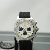 Breitling Chronomat 44 Airborne Steel 44mm Silver No numerals United States of America, New York, Buffalo