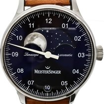 Meistersinger Steel 40mm Automatic LS908 pre-owned
