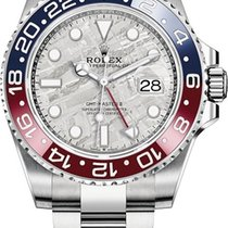 Rolex White gold Automatic Grey 40mm new GMT-Master II