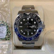 Rolex GMT-Master II Steel 40mm Blue No numerals
