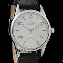 NOMOS Club Campus pre-owned 38.5mm Leather