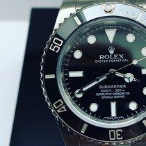 Rolex 114060 Zeljezo 2017 Submariner (No Date) 40mm rabljen