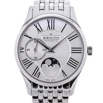 Zenith Elite Ultra Thin Steel 33mm Silver