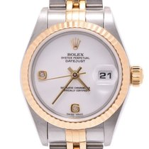 Rolex Lady-Datejust Yellow gold 25mm Green