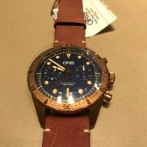 Oris Carl Brashear Bronze 43mm Blue No numerals United States of America, New York, Forest Hills