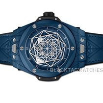 Hublot Big Bang Sang Bleu Céramique 45mm Bleu Sans chiffres