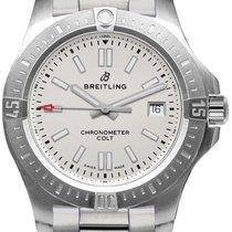 Breitling Chronomat Colt Stahl 41.1mm Silber