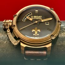 U-Boat Chimera pre-owned 46mm Black Date Leather
