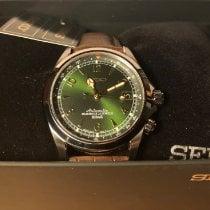 Seiko Spirit Acero 38mm Verde Árabes