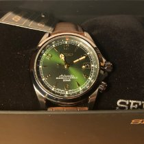 Seiko Spirit Steel 38mm Green Arabic numerals United States of America, New York, Brooklyn