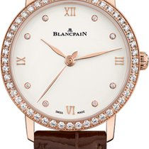 Blancpain Villeret Ultra-Slim Rose gold 29mm Roman numerals United States of America, New York, New York