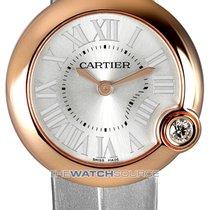 Cartier Ballon Blanc Roségold 30mm Silber Römisch