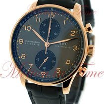 IWC Portuguese Chronograph Or rose 40.9mm Gris Arabes