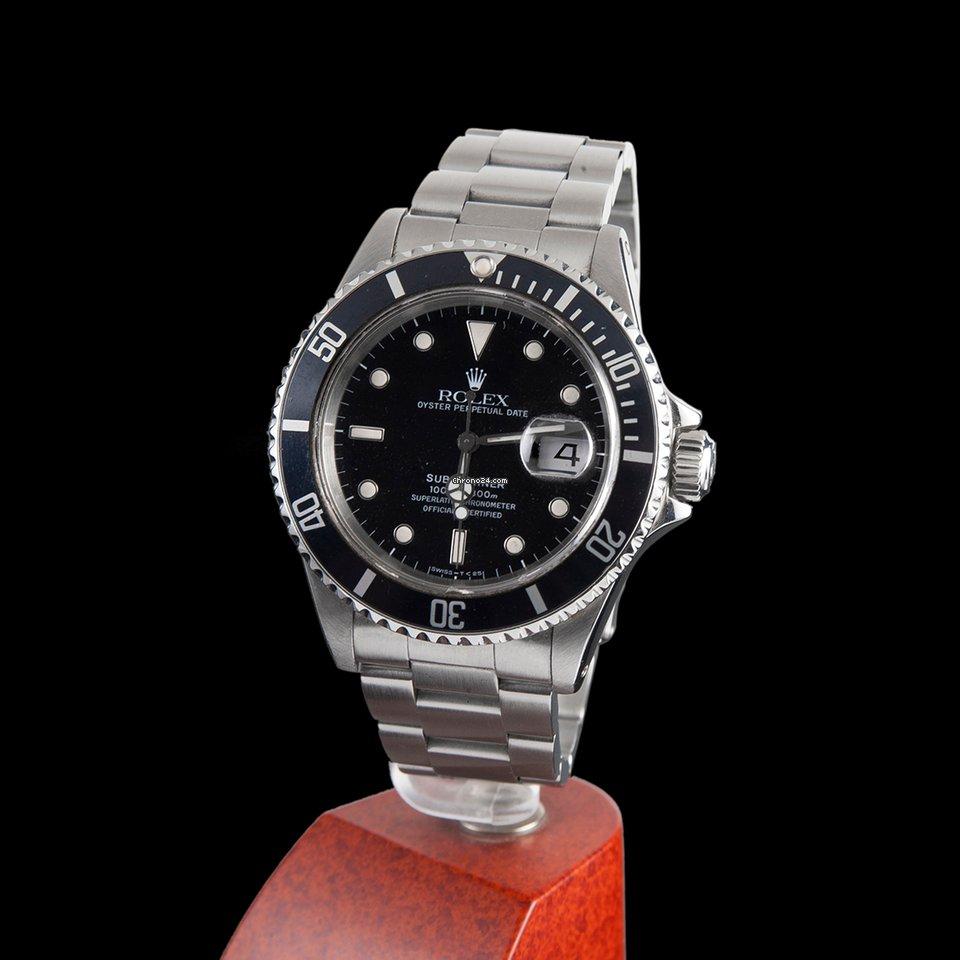 rolex submariner 300m date steel f r kaufen von einem trusted seller auf chrono24. Black Bedroom Furniture Sets. Home Design Ideas